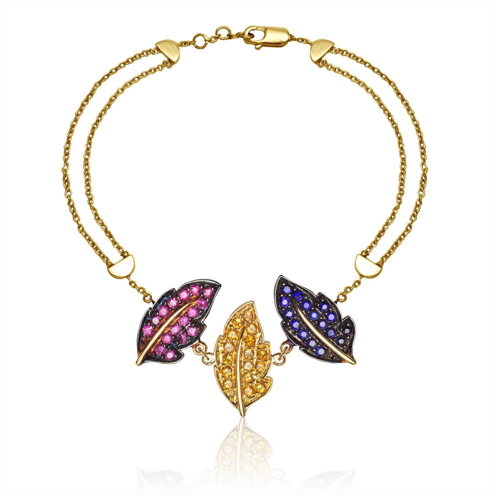 cbr033cls-bracelet-feuilles-dautomne